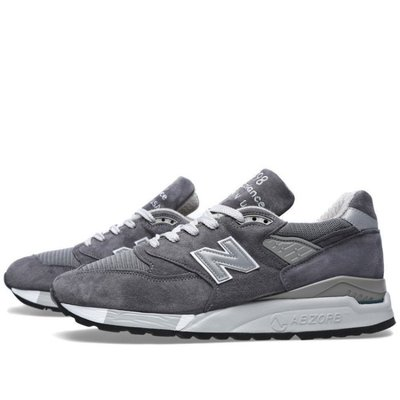 New Balance 998 慢跑鞋 NB998 深灰 麂皮 ABZORB 運動休閒鞋