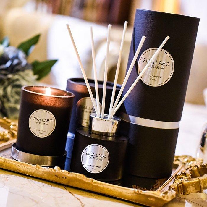 888利是鋪-香薰蠟燭家用臥室凈化空氣天然植物精油大豆蠟浪漫無煙香氛禮盒裝