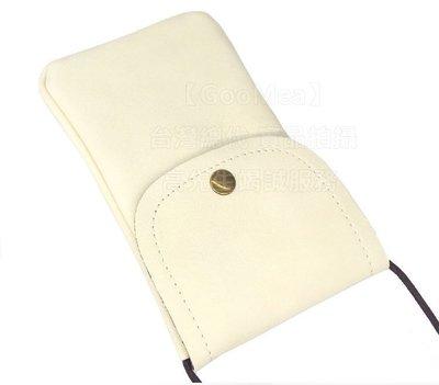 【GooMea】3免運 SUGAR Y12 5.45吋 單層掛脖 斜背 掛頸 手機袋 手機套 粉白