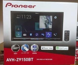 中壢富馳汽車音響 先鋒旗艦主機 Pioneer AVH-Z9150BT WiFi 智慧車用DVD影音主機~公司貨