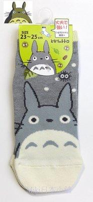 *Miki日本小舖*日本帶回宮崎駿 龍貓 TOTORO 灰色 短襪 23~25cm