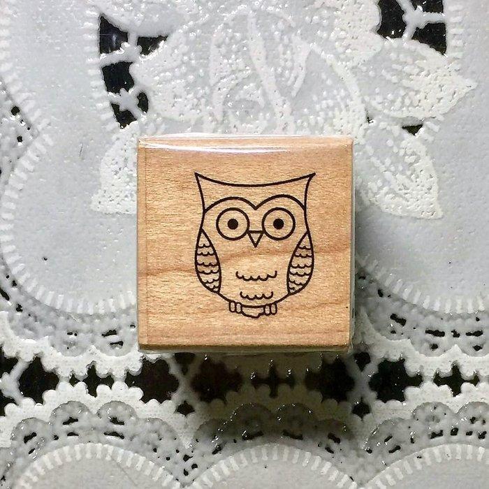 非貝登堡~HERO ARTS印章 ~ Tiny Owl A4942