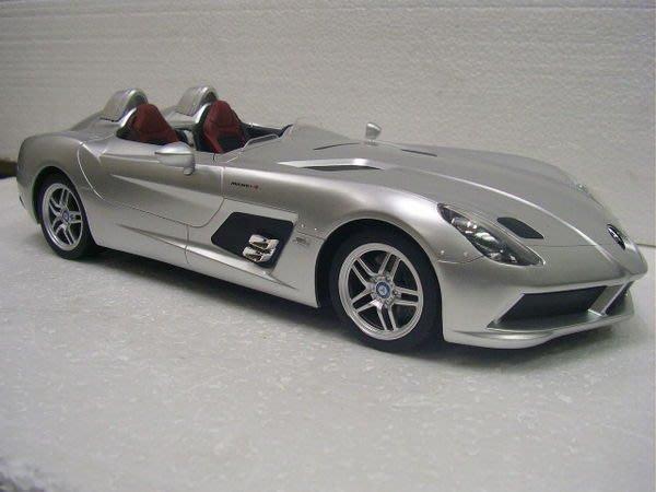 遙控車 1:12 原廠授權認證 Mercedes-Bens SLR (Z199) 遙控車