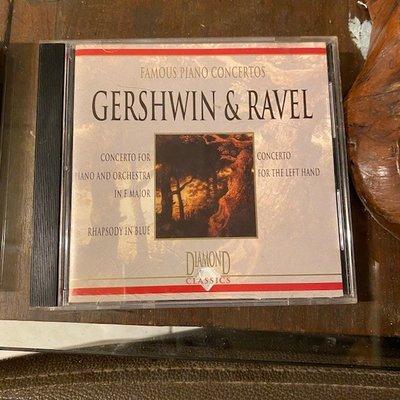 ~春庄生活美學小舖~2手CD    GERSHWIN&RAVEL/PIANO CONCERTOS