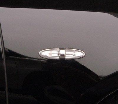 圓夢工廠 Lexus 2006~2009 ES300 ES330 ES350 改裝 鍍鉻銀車燈框飾貼 側燈框方向燈框