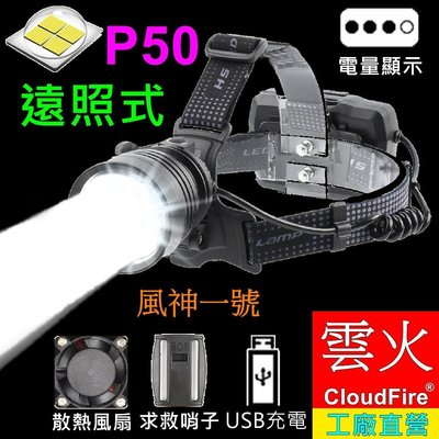 販售8款市售最亮的P50手電筒和頭燈(請選擇產品賣場下標)-最大亮度3600流明- XH-P50強光手電筒頭燈雲火光電
