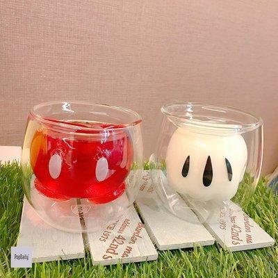 現貨【天字第一號店】全家最新集點 迪士尼x歡樂奇聚 《限量 雙層玻璃杯》單售每個 699元