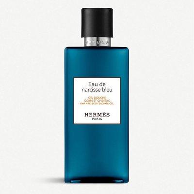 HERMES 愛馬仕 沁藍水仙 手部 身體 沐浴露 Eau de Narcisse Bleu 200ml 沐浴乳