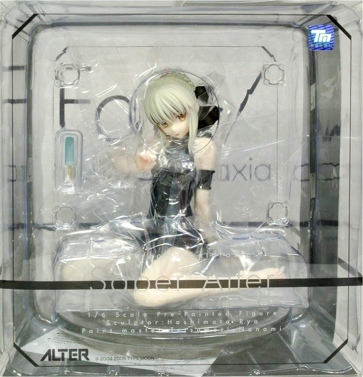 日本正版 ALTER Fate/hollow ataraxia 黑Saber Alter 泳裝 1/6 公仔 日本代購