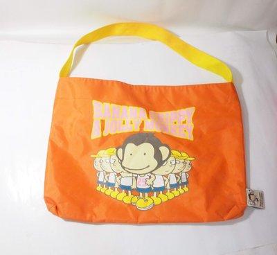二手,BANANA CHIPPY A JOLLY MONKEY  單提帶 手提袋,側背包,購物包