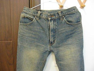 Lee 窄版刷色牛仔褲
