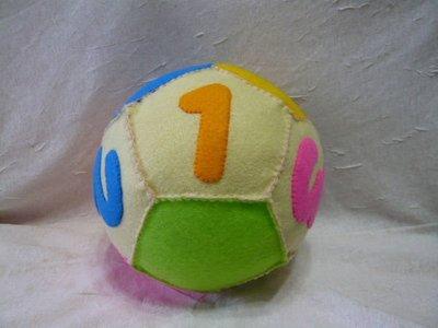 *小燕材料包專營區 不織布~五邊形數字大圓球~~~材料包