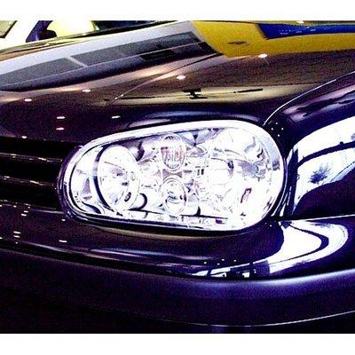 【JR佳睿精品】VW 福斯 Golf 4 Golf4 鍍鉻大燈框 前燈框 飾條 電鍍 改裝 台灣製