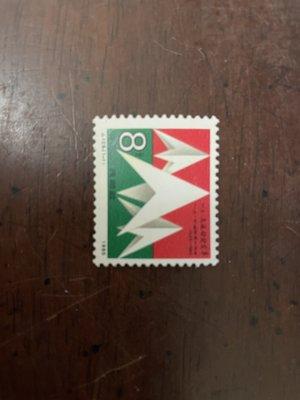 """中國大陸郵票 J125 """"一二九""""運動五十周年 1全 1985.12.09 發行"""