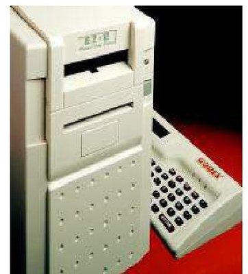 近全新 Godex 熱感條碼機 EZ-2C 列印條碼機 標籤列印機 貼紙機 標籤機 自行編輯 熱感條碼標籤印製機