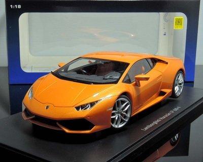 【MASH】現貨特價 Autoart 1/18 Lamborghini Huracan LP610-4 橘
