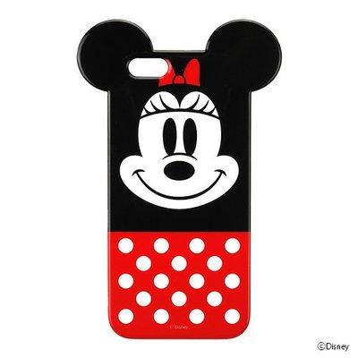 尼德斯Nydus~* 日本正版 迪士尼 米妮 Minnie TPU軟殼 手機殼 經典款 iPhone6 4.7吋