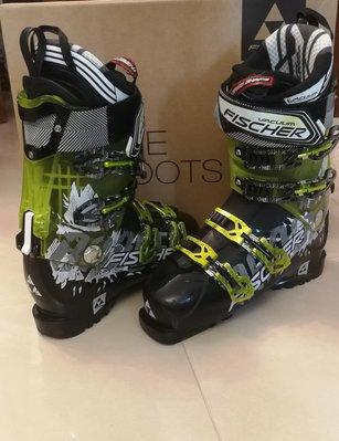 滑雪鞋, Ski boots,  Fisher Ranger 10 plus Vacuum CF boot