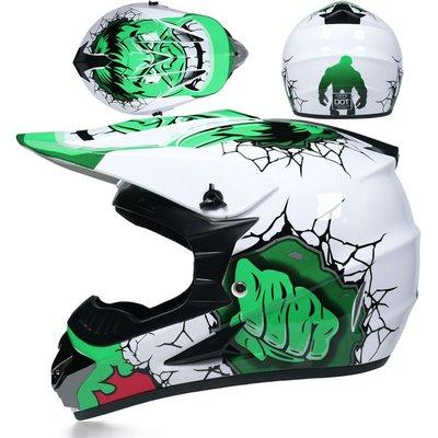 ORZ越野頭盔男賽四季安全帽公路青少年版成人卡丁盔越野車頭盔