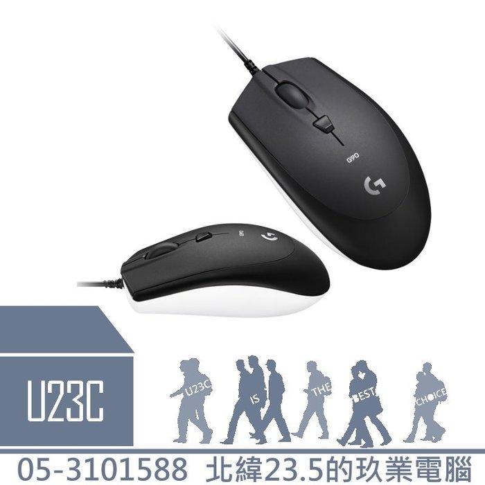 【嘉義U23C 含稅附發票】羅技 Logitech G90 光學電競滑鼠(2017)