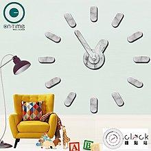 【鐘點站】On Time Wall Clock 大理石紋-壁貼鐘-掛鐘.無損牆面.親子DIY民宿餐廳