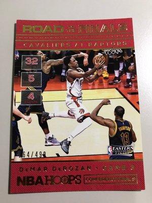 【DeMAR DeROZAN】2016-17 NBA HOOPS 季後賽之路 /499限量卡