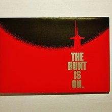 珍貴絕版1990年辛康納利荷里活戰爭劇情電影《追擊赤色十月》首映禮門券1張