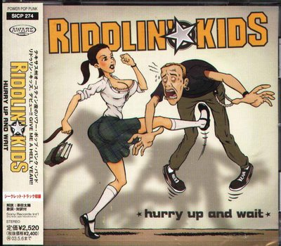 K - Riddlin Kids - Hurry Up And Wait - 日版 - NEW