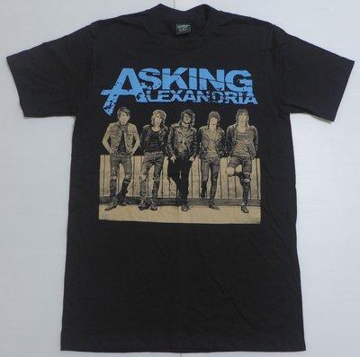 【Mr.17】Asking Alexandria 搖滾T恤 短袖樂團人物人像T-SHIRT (U008)