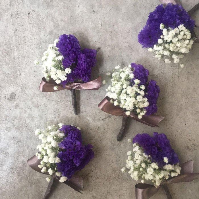 H88。星晨胸花。伴郎胸花。招待胸花。新郎胸花。台北西門花店。【Flower&House花藝之家】