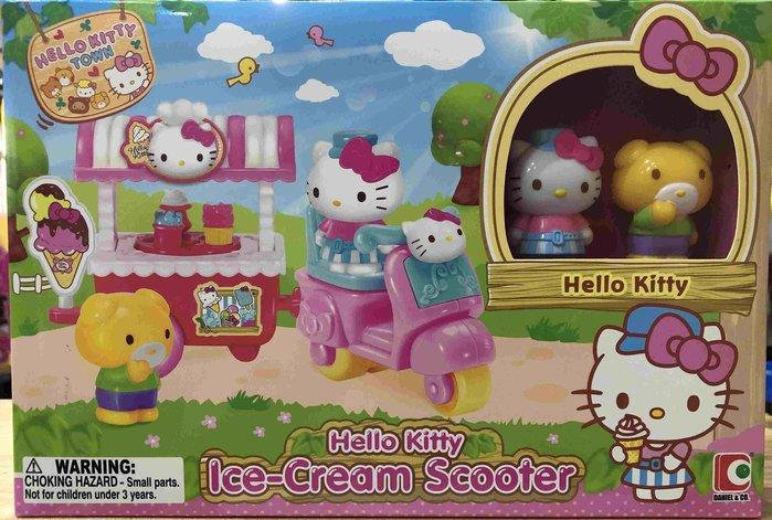 【W先生】Hello Kitty 凱蒂貓 冰淇淋車 女孩 家家酒 玩具 扮家家酒
