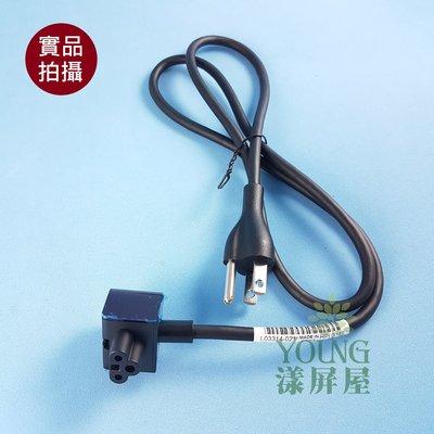 【漾屏屋】L頭 彎頭 米老鼠線 電源線 梅花線 90CM 三孔 HP 筆電 變壓器 米老鼠頭 LS-18LB