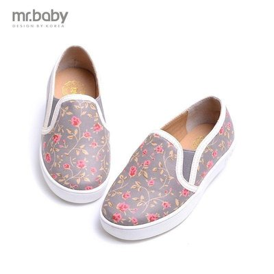 【格倫雅】^秋 印花女童單鞋 兒童皮鞋 休閑童鞋16060[g-l-y47