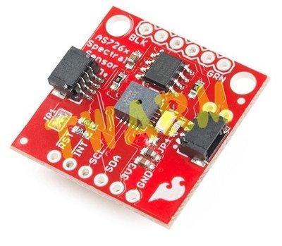 《德源科技》r) SPF原廠  Spectral Sensor Breakout - AS7262 Visible