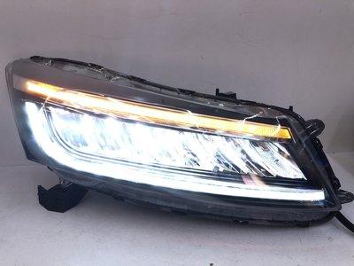 合豐源 車燈 ACCORD K13 雅哥 雅閣 8代 八代 LED 反射 大燈 頭燈 跑馬 方向燈 開機 偵測 一抹藍