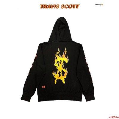 熱賣Travis Scott x Ksubi Flaming Dollar 火焰logo嘻哈說唱情侶