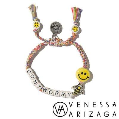 Venessa Arizaga DON'T WORRY BEE HAPPY 笑臉彩色手鍊