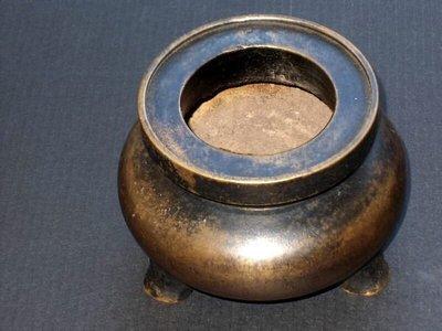 【山沽居】清代宣德款鬲式銅爐