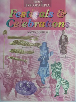【月界二手書店】Festivals&Celebrations_David Munro〖少年童書〗CER