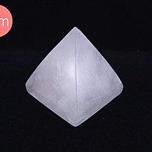 ☆寶峻晶石館☆特價(裂痕礦缺)~能量塔 白水晶金字塔 提高正能量 5cm(高)
