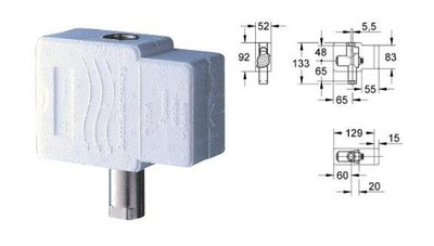 GROHE Urinal Flush 37017000+37018 小便斗埋壁式水箱+按紐