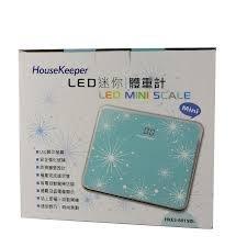 請勿下標 (全新,500) House Keeper LED迷你體重計 (藍)