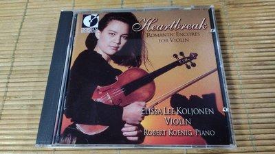 好音悅 發燒片 Dorian 多靈 Heartbreak 心碎 Koljonen Koenig USA美版