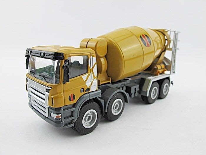 【阿LIN】121AAB 5012 合金工程車 混泥土攪拌車 1:50 Scale HY TRUCK