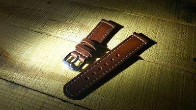 B Handmade Leather watch belt 錶帶 手錶 rolex panerai 勞力士 沛納海 精工 g shock casio goros redmoon