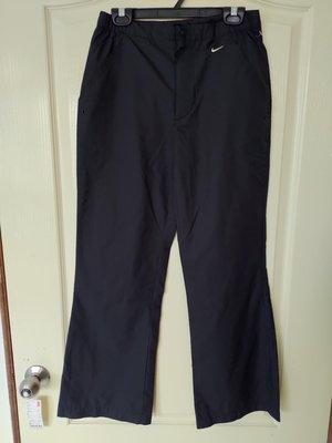[99go] Nike CLIMA FIT 防風布料 黑色 運動褲 S號 越南製