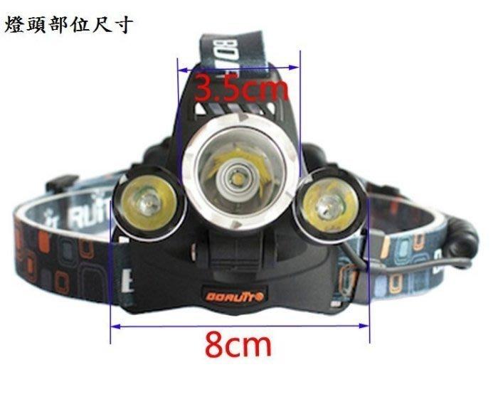 (頭燈之王/保護板鋰電全配組)  亮度直逼3600流明 L2頭燈超強光 超遠射 自行車 單車 頭戴式 LED 頭燈