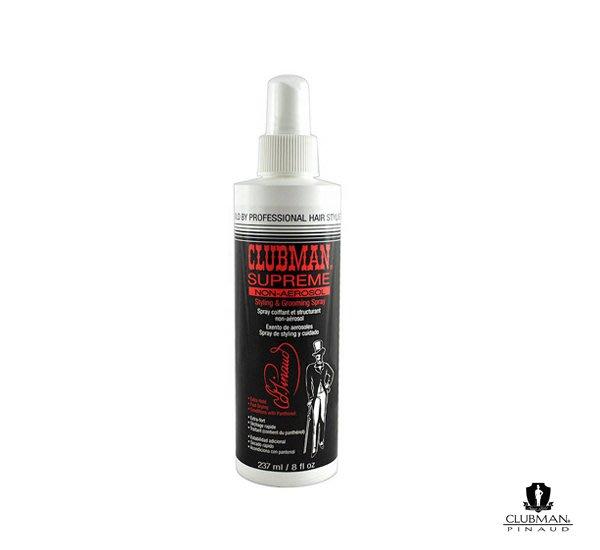 GOODFORIT / 法國CLUBMAN Supreme Hair Spray 強力定型噴霧/237ml