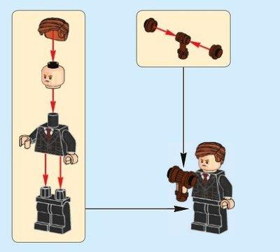 【LEGOVA樂高娃】LEGO 樂高 侏儸紀系列 75930-7 Gunnar Eversol 下標前請詢問