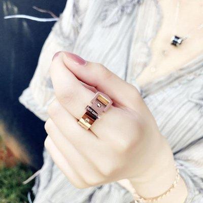 戒指戒指女潮人時尚個性鈦金指環  西城...